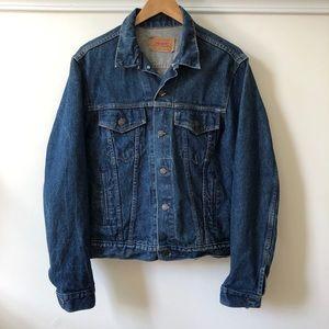 Vintage Levis Denim Trucker Jacket 71506 0216
